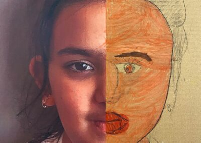 Zelfportret door Dila