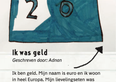 Ik was geld door Adnan