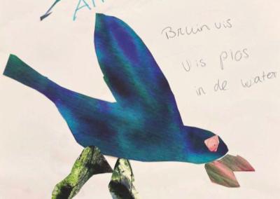 Groene appelvogel door Asmeron