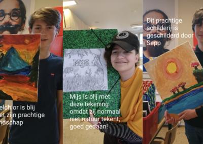 Kunstacademie groep 3: Melchior, Mijs en Sepp