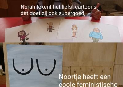 Kunstacademie groep 3: Norah en Noortje