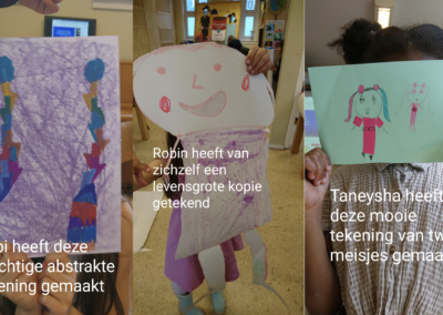 Kunstacademie groep 1: Abbi, Robin, Taneysha