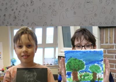 Kunstacademie groep 2: Silas, Rem, Kai
